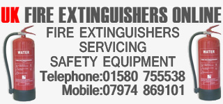 UK FIRE EXTINGUISHERS ONLINE
